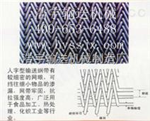 人字形網帶,不銹鋼網帶