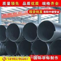 排污管道,地埋排污管道,HDPE钢带波纹排污管道厂家