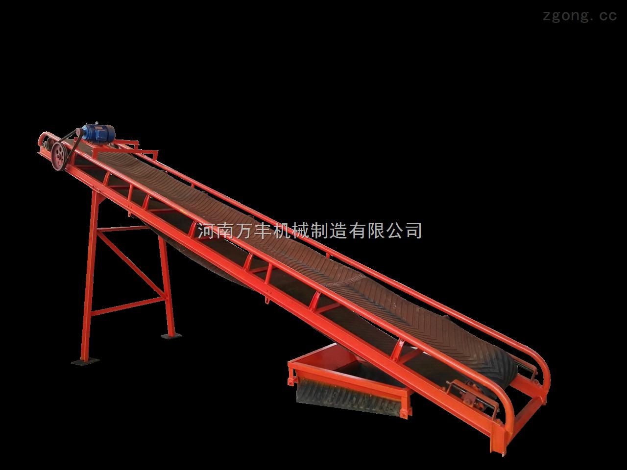河南小型有机肥设备输送机厂家、皮带输送机价格