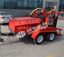 路面养护拖拉式灌缝机沥青灌缝机应用
