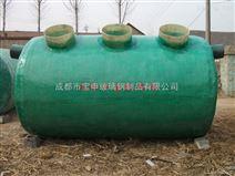 厂家直销 环保型玻璃钢化粪池 规格齐全