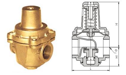 yz11x支管减压阀 温州不锈钢支管减压阀 价格优惠--县图片