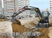 沃尔沃EW60C轮式挖掘机配件